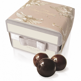 Dark Chocolate Marzipan Balls