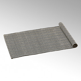 Lambert Koami table runner - black/grey
