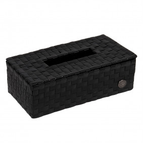 Luzzi tissue box - black