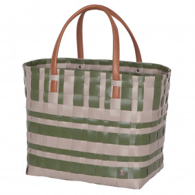 Lumberjack shopper bag - grey/green