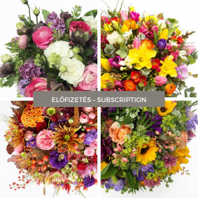 Flower Subscription for one year