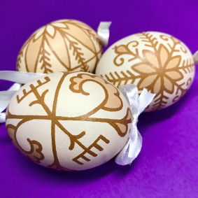 Decorated Easter Egg (pack of 5)